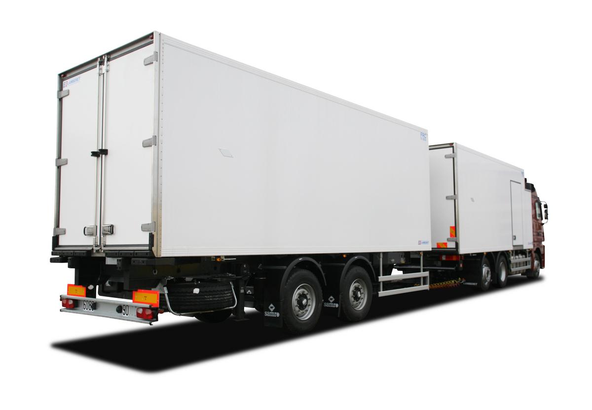 Veicoli Commerciali Camion Semirimorchi Frigoriferi